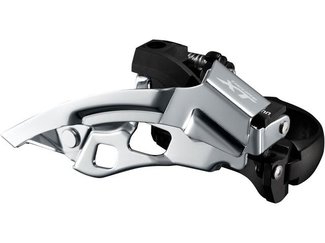 Shimano Deore XT Trekking FD-T8000 Voorderailleur klem laag 3 x 10 Down Swing, black